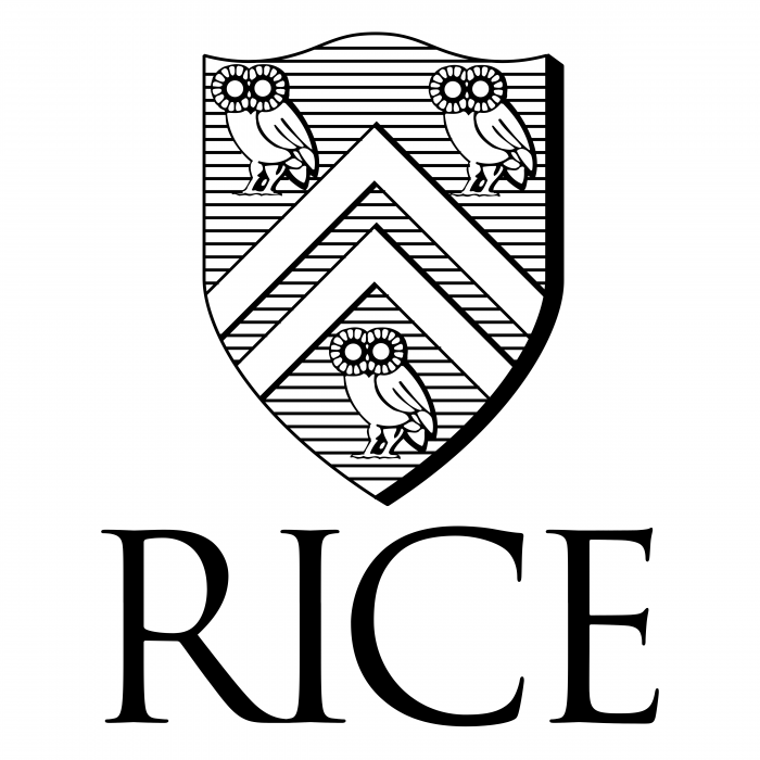 RICE University logo black