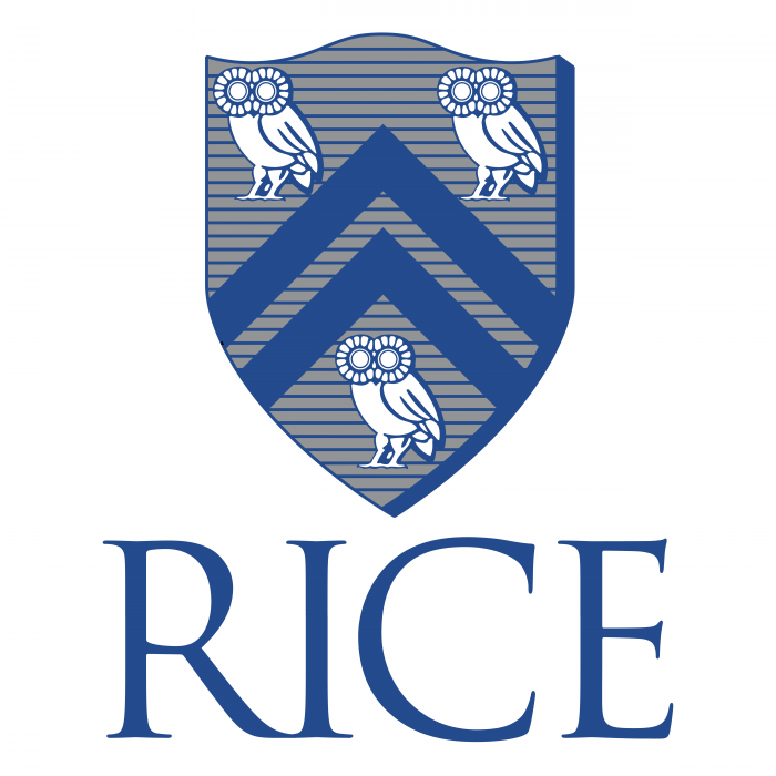 RICE University logo blue