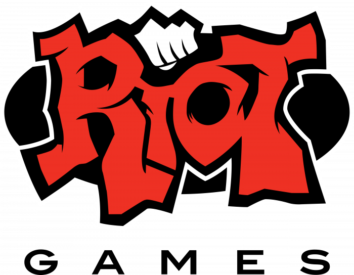 Riot Games logo red