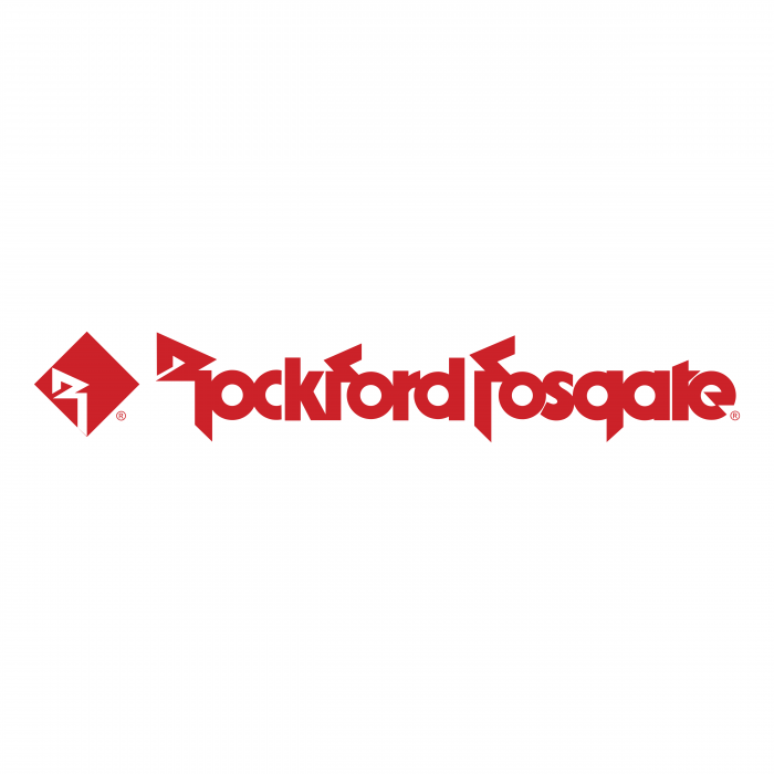 Rockford Fosgate logo red