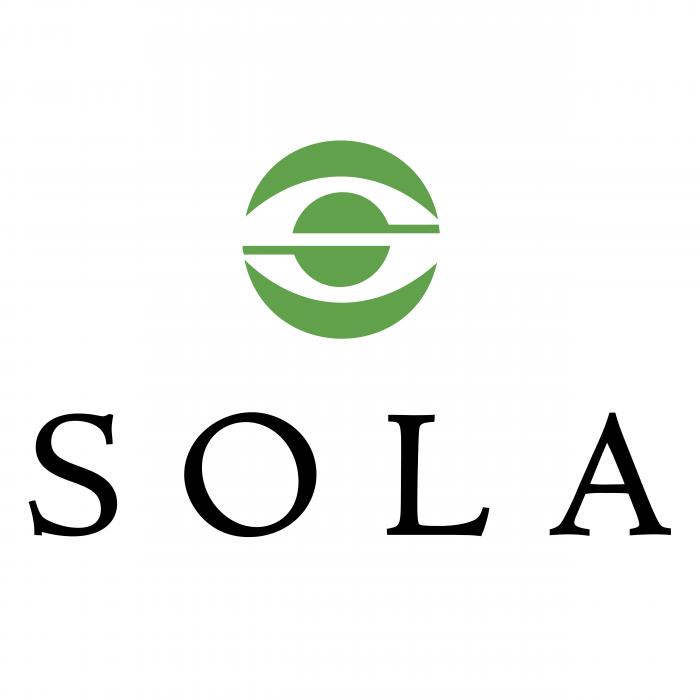 Sola logo green