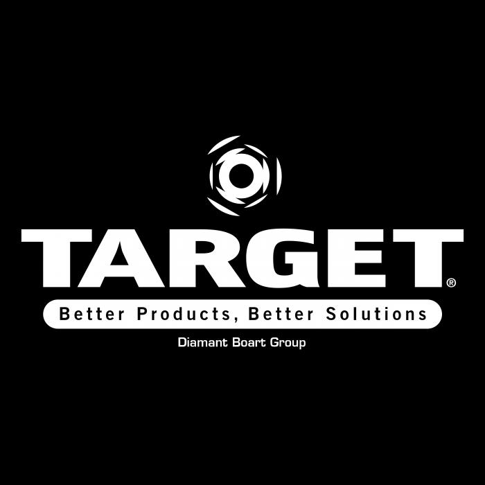 Target logo white