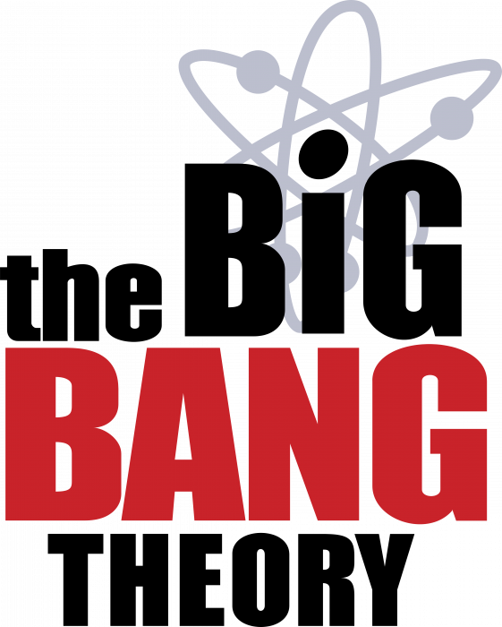 The Big Bang Theory logo black