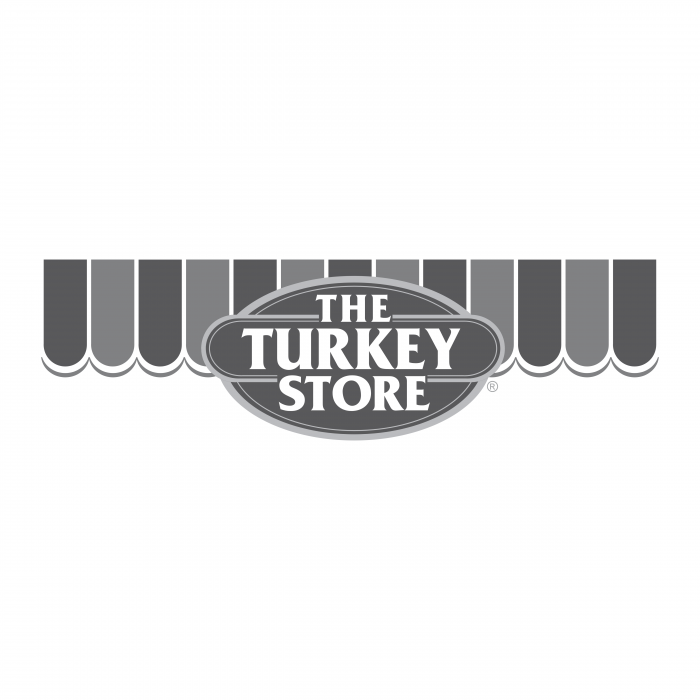 The Turkey Store logo grey