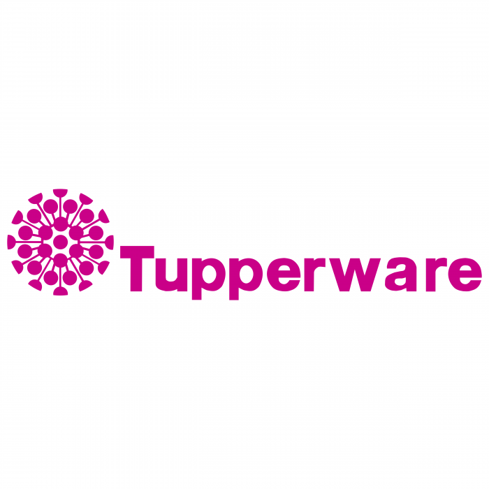 Tupperware logo pink