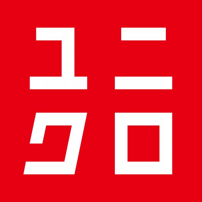 Uniqlo logo pink