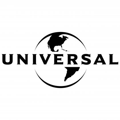 Universal logo black