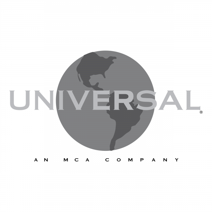 Universal logo grey