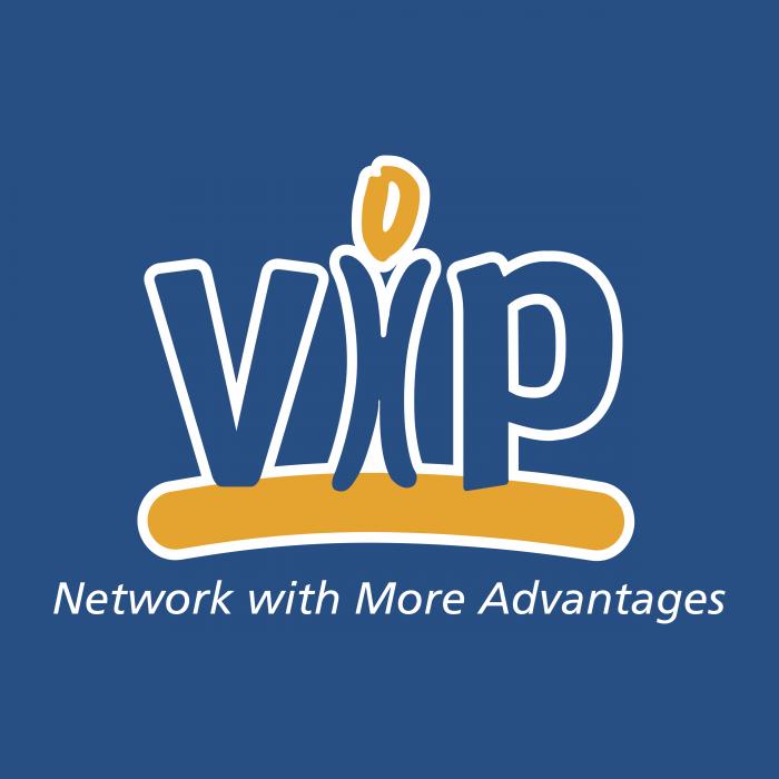 VIP logo cube