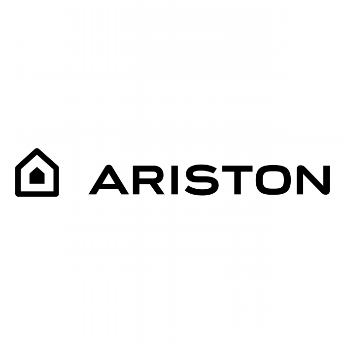 Ariston logo black