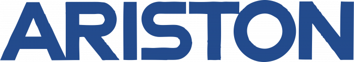 Ariston logo blue