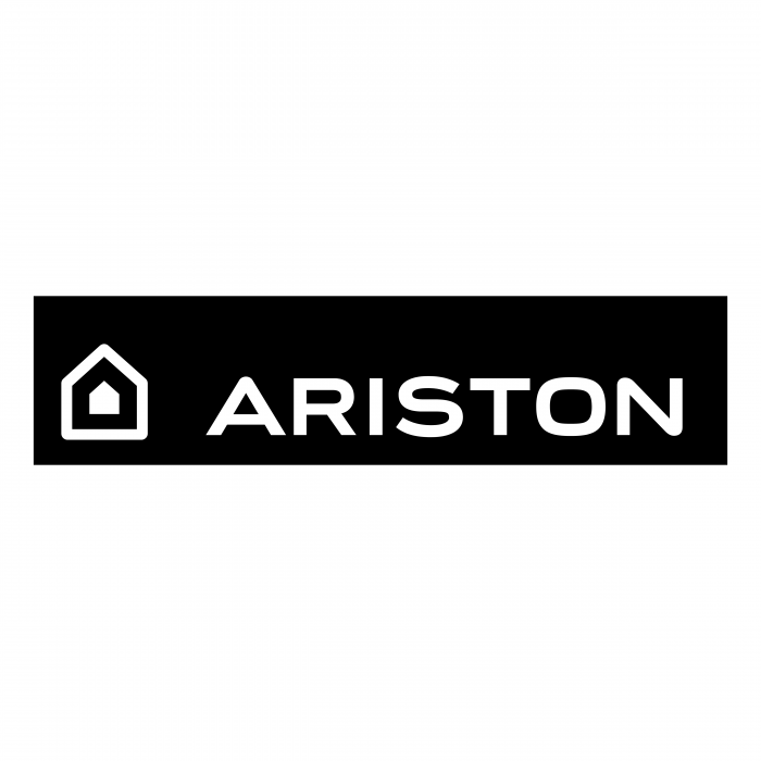 Ariston logo white