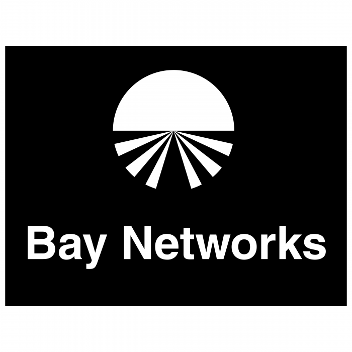 Bay Networks logo black