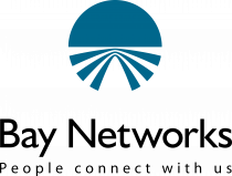 Bay Networks logo blue