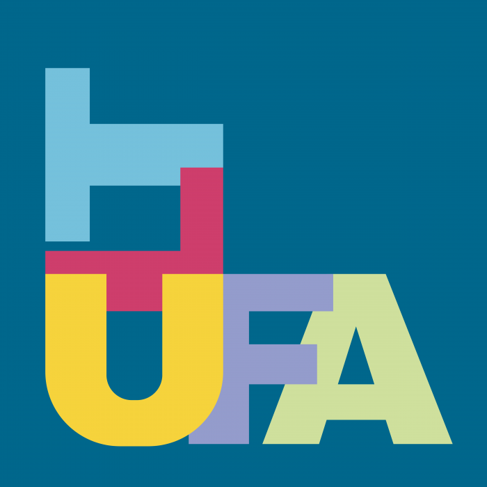 CLT UFA logo cube