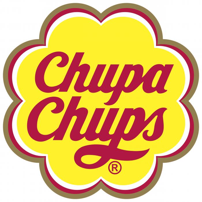Chupa Chups logo brown