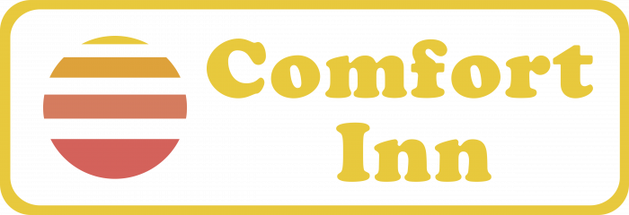 Comfort Inn logo pink