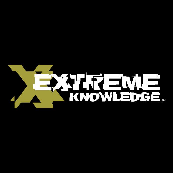 Extreme Knowledge logo cube