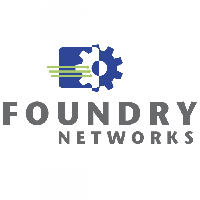 Foundry Networks logo colour
