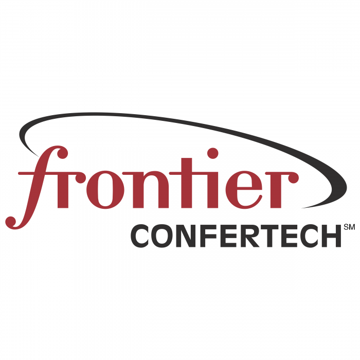 Frontier Communications logo confertech