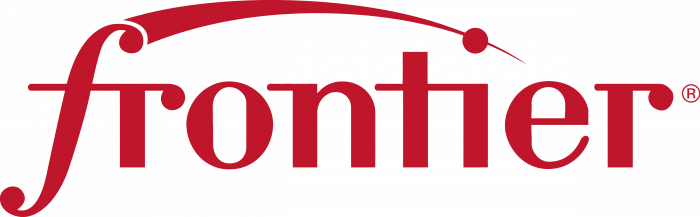 Frontier Communications logo red