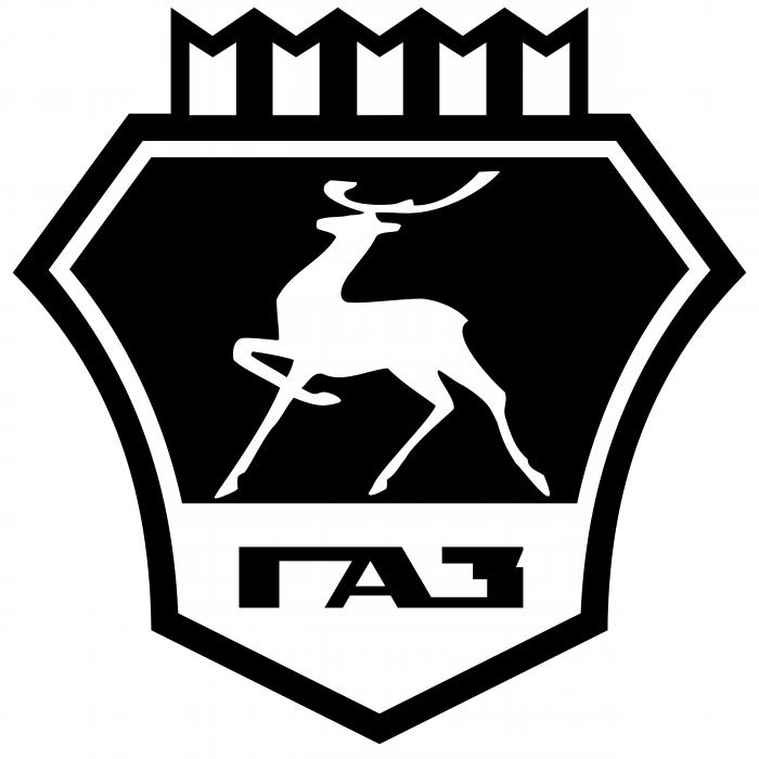 GAZ logo black