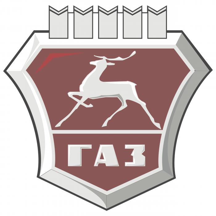 GAZ logo brown