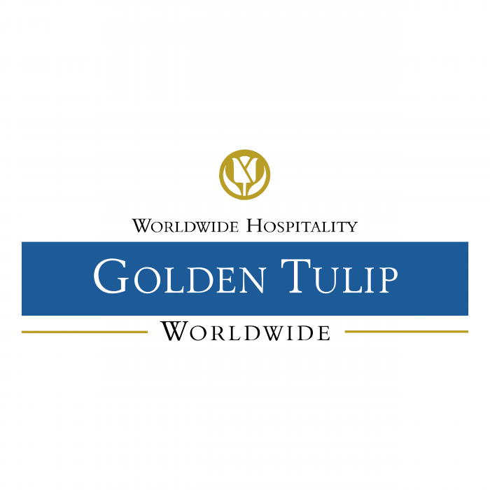 Golden Tulip logo blue