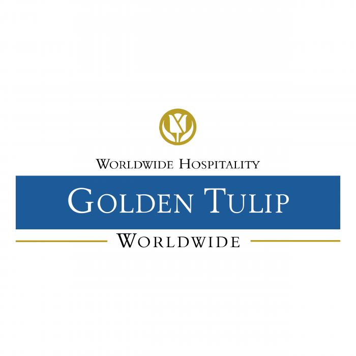 Golden Tulip logo blue