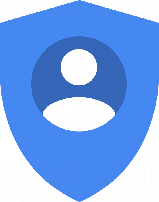 Google Account Security logo blue