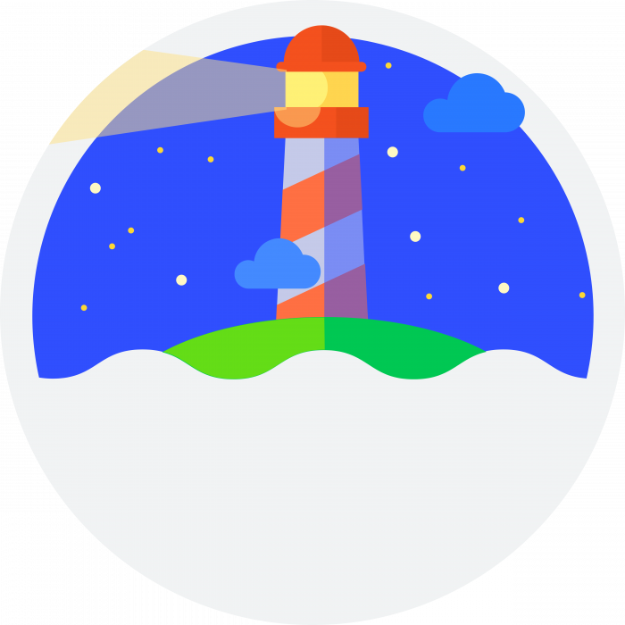 Google Lighthouse logo colour