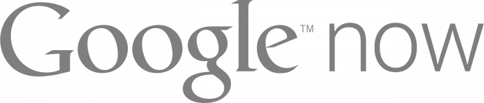 Google Now logo grey