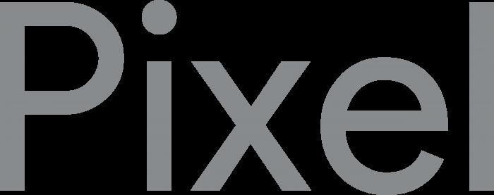 Google Pixel logo grey