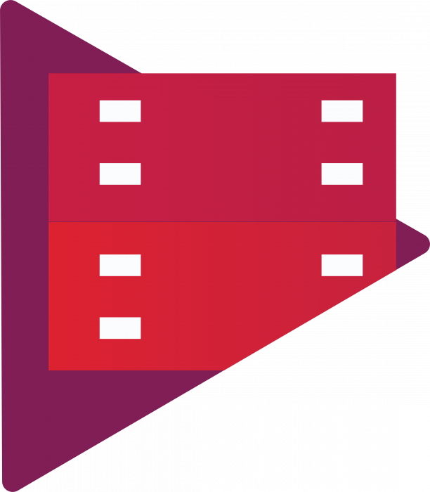 Google Play logo movies tv