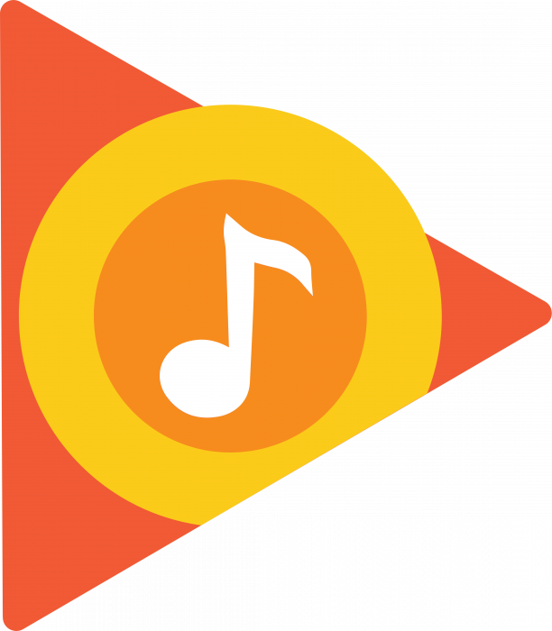 Google Play logo music