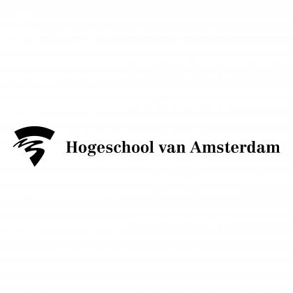 Hogeschool van Amsterdam logo black