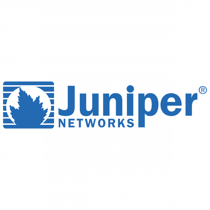 Juniper Networks logo blue