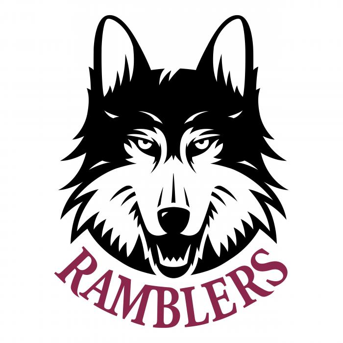 Loyola Chicago Ramblers logo wolf