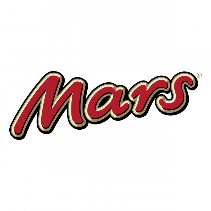 Mars logo black