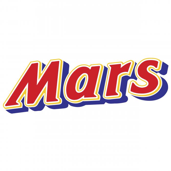 Mars logo blue