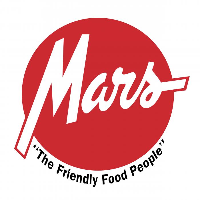 Mars logo red