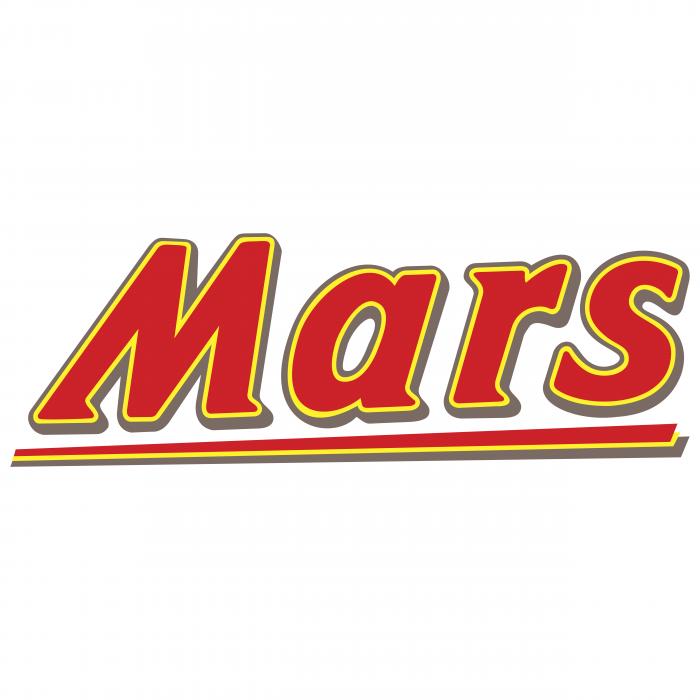 Mars logo yellow