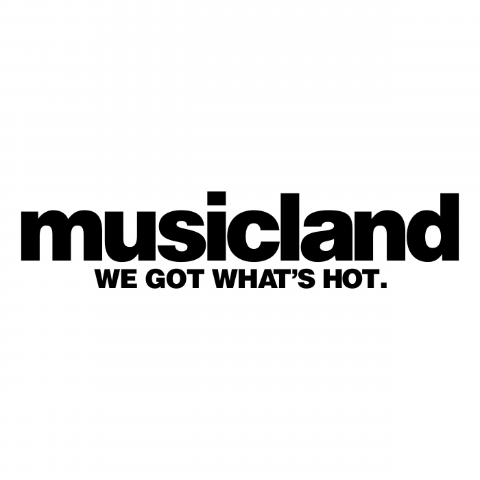 Musicland logo black