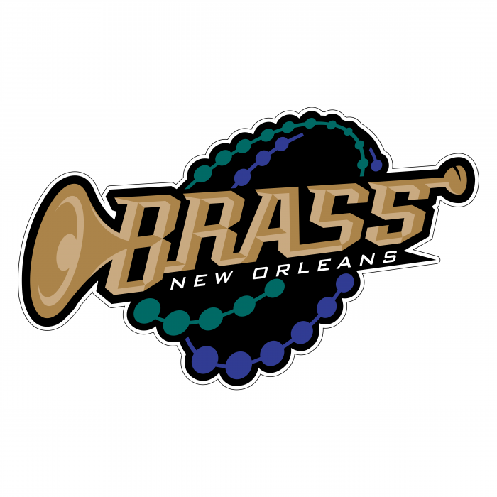 New Orleans Brass logo colour