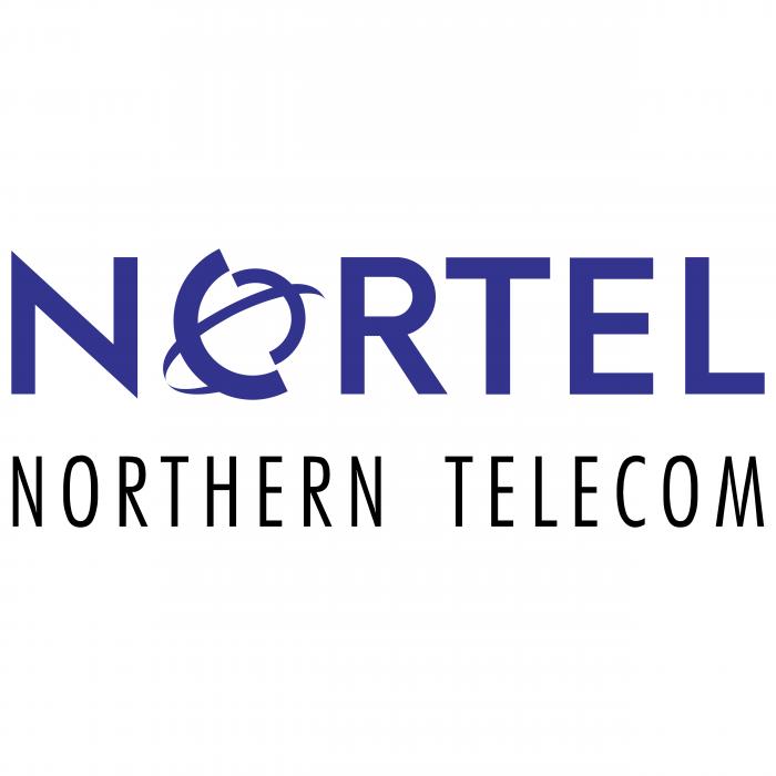 Nortel logo violet