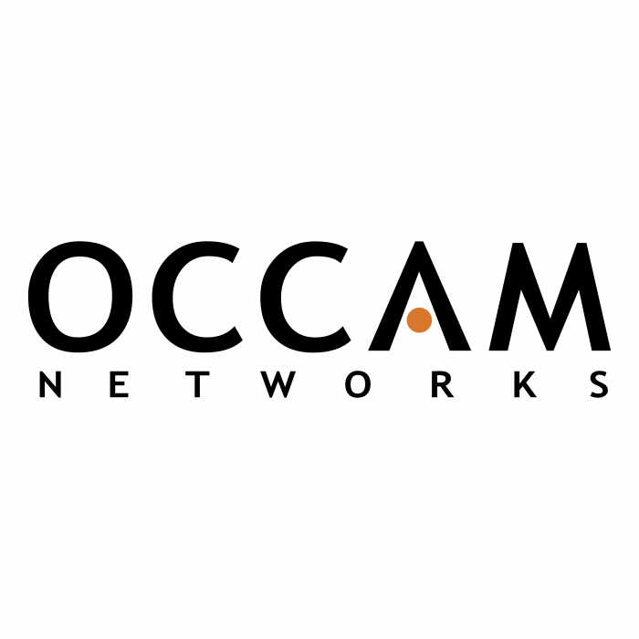 Occam Networks logo black