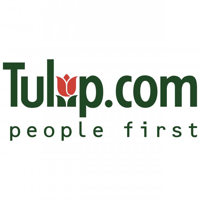 Tulip.com logo black