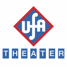 UFA Theater logo cube