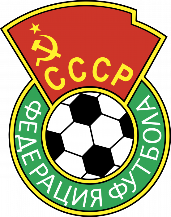 USSR logo football