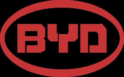 BYD Logo red